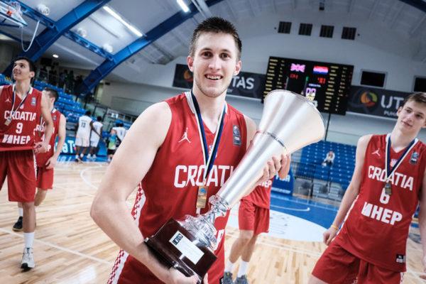 Mateo Drežnjak sa juniorima Hrvatske osvojio zlatnu medalju