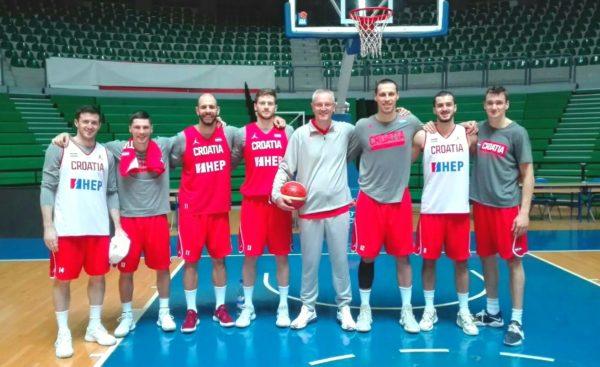 Bivši košarkaši Širokog na okupljanju seniorske reprezentacije Hrvatske