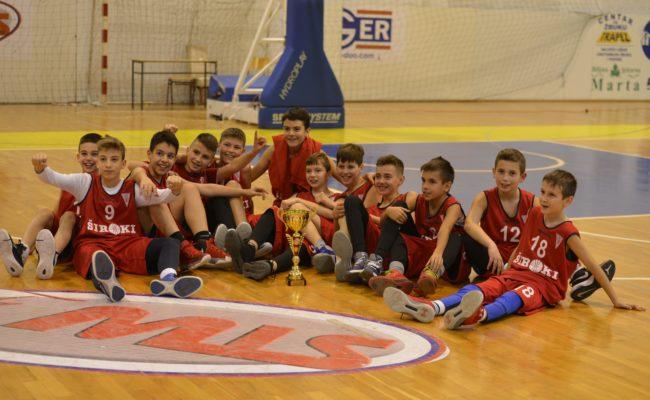 """HKK Široki pobjednik """"Božićnog mini basket festivala"""" u Posušju"""
