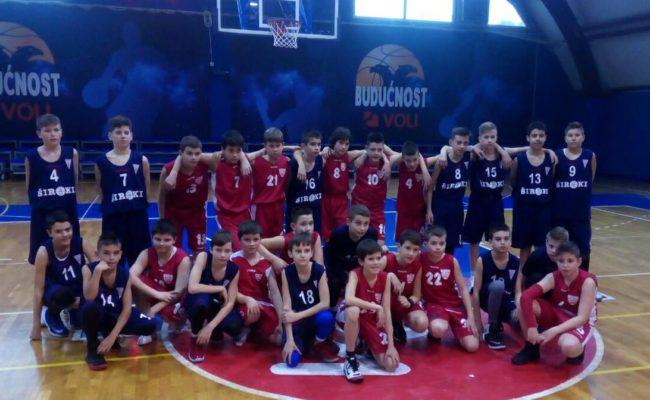 Uspjeh malih košarkaša u Podgorici
